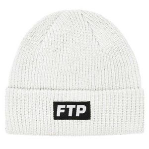 FTP (Limited Edition White) Beanie w/ logo